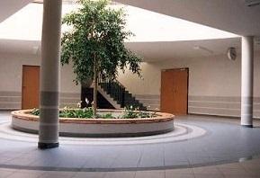 Aula der Volksschule Nöchling